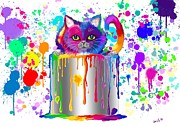 Nick Gustafson - Paint Can Cat Too