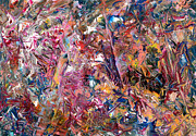 Abstract Expressionism Prints - Paint number 49 Print by James W Johnson