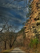 Tennessee Landmark Prints - Paint Rock Print by Janice Spivey