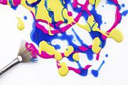 Paint Splatter Print by Diane Diederich