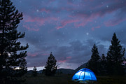 Camping Photos - Paint the Sky with Stars by Juli Scalzi