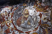 Fresco Photos - Painted Ceiling In The Sumela Monastery by Robert Preston
