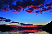 Sandpoint Photos - Painted Clouds by Benjamin Yeager