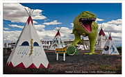 Gary Warnimont Metal Prints - Painted Desert Indian Center  Metal Print by Gary Warnimont