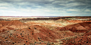 Travel Photographs Framed Prints - Painted Desert Framed Print by Phill  Doherty