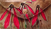 Clutch Bag Originals - Painted Designer Clutch Purse by Sherry Harradence