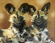 Robert Teeling - Painted Dogs