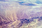 Painted Earth I Print by Jenny Rainbow