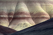 Story Prints - Painted Hills 10 Print by Bob Christopher