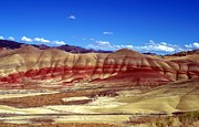 Neurotic Images Photography Posters - Painted Hills Poster by Chalet Roome-Rigdon