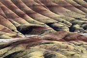 Painted Rocks Art - Painted Hills Oregon 11 by Bob Christopher