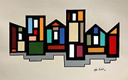 John Chehak - Painted Houses 1
