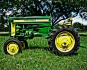 Cheryl Young - Painted John Deere