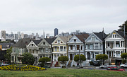 Painted Ladies Framed Prints - Painted Ladies Framed Print by David Bearden