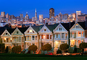 Californian Prints - Painted Ladies Print by Inge Johnsson