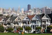 Featured - Painted Ladies of Alamo Square San Francisco California 5D27996 by Wingsdomain Art and Photography