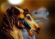 Surrealistic Art - Painted Pony  by Bob Orsillo