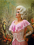 Dolly Parton Prints - Painted Royalty Print by Brian Graybill