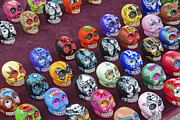 David  Zanzinger - Painted Skulls