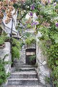 Susan Leonard - Painted stone steps