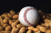 All - Painterly Baseball and Peanuts by Andee Photography