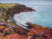 Quin Sweetman Paintings - Painterly - Bold Seascape by Quin Sweetman