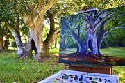 AnnaJo Vahle - Painting Hickory Hole