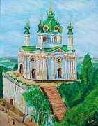 Ruslana Lev - Painting of St Andrew...