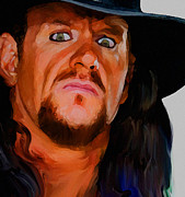 Parvez Sayed - Painting of Undertaker