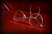 Exam Framed Prints - Pair of Glasses - Optician Framed Print by Paul Ward