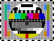 Test Pattern Digital Art - PAL TV test signal by Vitezslav Valka