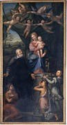 Drapery Prints - Pala Pietro, Saint Philip Neri Print by Everett