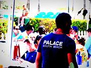 Pop Art Photos - Palace Bar Funk in South Beach Miami  by Funkpix Photo Hunter