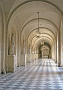 Palace Corridor Print by Ann Horn