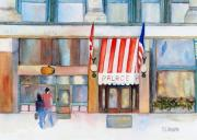 Wa Painting Metal Prints - Palace Hotel Metal Print by Sandy Linden