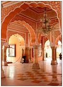 Palace In Jaipur Print by Sophie Vigneault