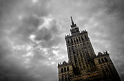Cityscape Art - Palace of Culture and Science in Warsaw by Michal Bednarek