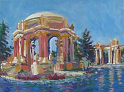 League Painting Prints - Palace of Fine Arts Print by Vanessa Hadady BFA MA