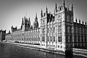 River View Prints - Palace of Westminster Print by Elena Elisseeva