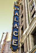 Palace Theater In Downtown Los Angeles Print by Gregory Dyer