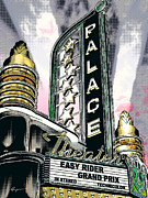 Americana Art Framed Prints - Palace Theater Pop Framed Print by Anthony Ross
