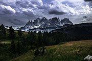 Italian Landscapes Prints - Pale San Martino Italian Alps Print by Gianmarco Cicuzza
