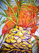 Sicily Paintings - Palermo Palm by Kandy Cross