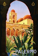 Sicily Painting Metal Prints - Palermo Metal Print by Pg Reproductions