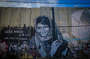 Leila Photos - Palestinian Graffiti by David Morefield