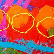 Funky Paintings - Palimpsest 004 by John  Nolan