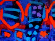 Rhythm Painting Originals - Palimpsest 006 by John  Nolan