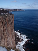 Peterson Nature Photography Posters - Palisade Head Winter Poster by Melissa Peterson
