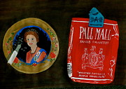 Ashtray Paintings - Pall Mall by Robert Raymond