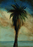 Picturesque Painting Prints - Palm 3 Print by Mickey Mayfield
